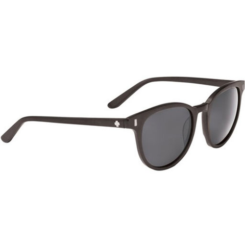 Spy Crosstown Collection Alcatraz Sunglasses (Matte Black/Grey Lens)