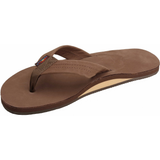 Rainbow Girls Premier Sandals (Dark Brown/Single/Wide Strap)