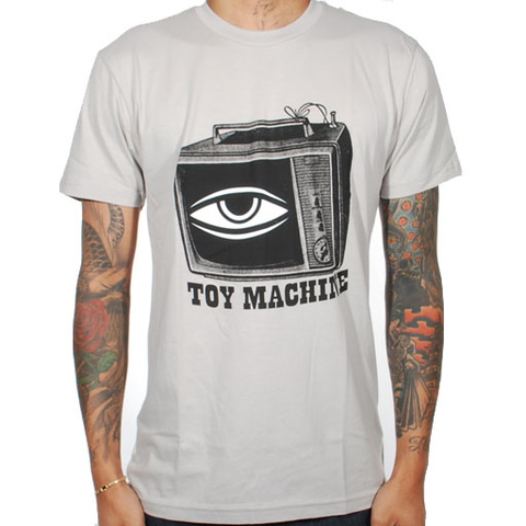 Toy Machine Toy Tv Tee (Silver)