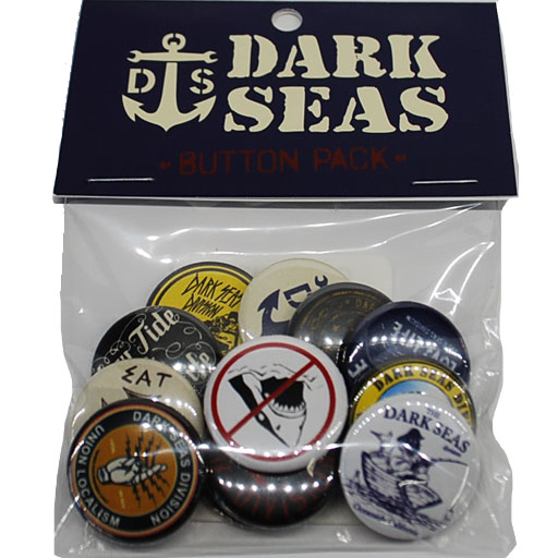 Loser Machine Dark Seas Button Pack (Assorted)