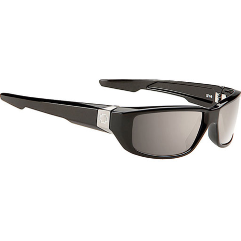 Spy Happy Lens Dirty Mo Sunglasses (Black/Polarized Bronze Lens)
