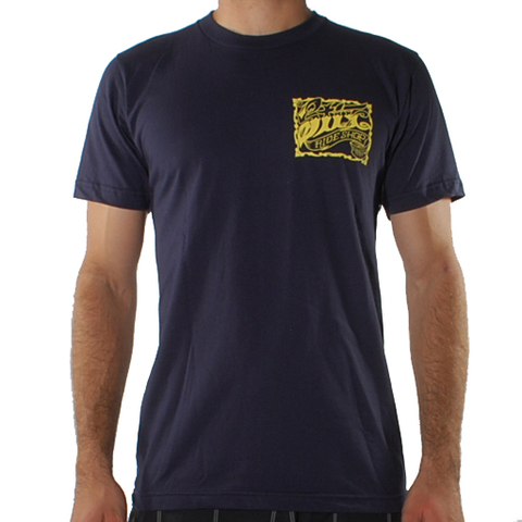 Stix Cattlemen Tee (Navy/Yellow)
