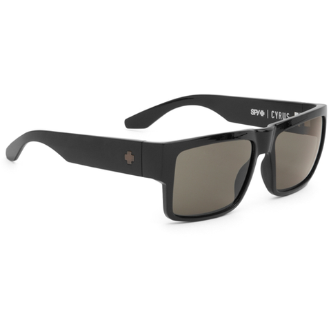 Spy Cyrus Sunglasses (Black/Happy Grey Green Lens)