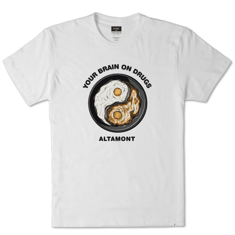 Altamont Fried S/S Tee (White)