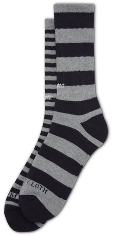 Altamont Mismatch Crew Socks (Dark Navy)