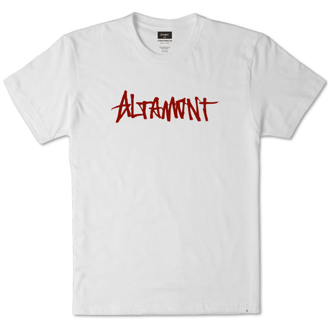 Altamont One Liner S/S Tee (White)