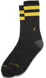 Altamont A Stripe Crew Socks (Black)