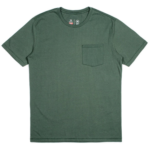 Brixton Basic Pocket S/S Tee (Chive)