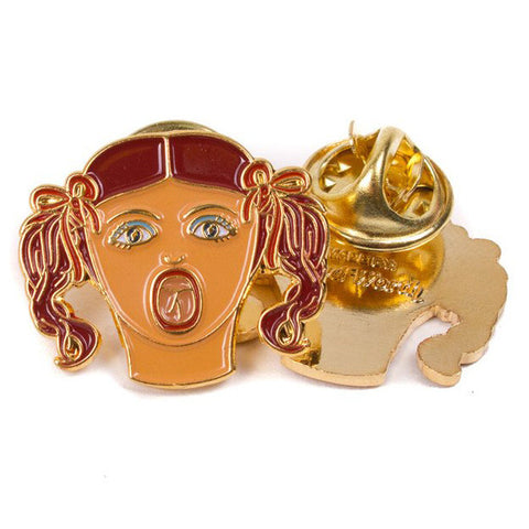 Good Worth Blow Up Doll Lapel Pin