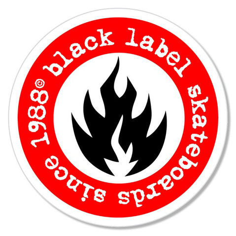 Black Label Since 88 Sticker