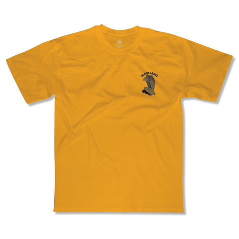 Black Label Vulture Curb Club S/S Tee (Yellow)