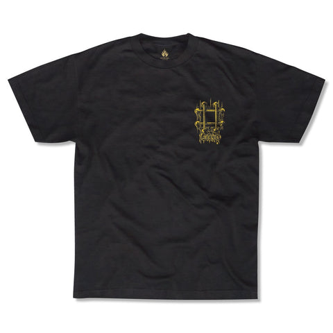Black Label Lucero OG Bars S/S Tee (Black)