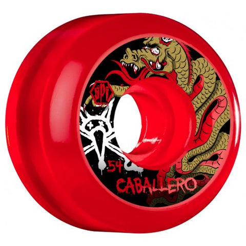 Bones Caballero Wheels (SPF/Clear Red)