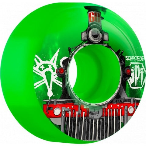 Bones Schroeder Train Wheels (SPF/Green)