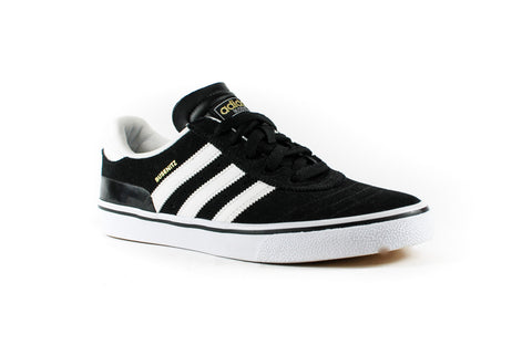 Adidas Busenitz Vulc Shoes (Black/White/Black)