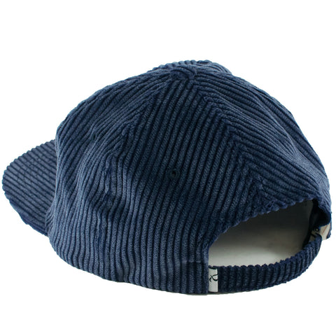 Quasi Whatever 5 Panel Strapback Hat (Indigo)