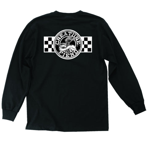 Creature Strike Fast Regular L/S Tee (Black)