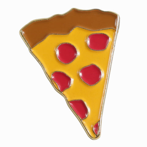 Pizza Slice Emjoi Lapel Pin