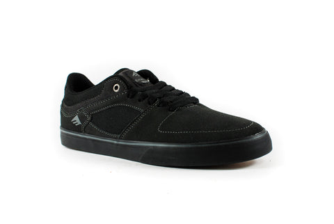 Emerica Hsu Low Vulc Shoes (Dark Grey/Black)
