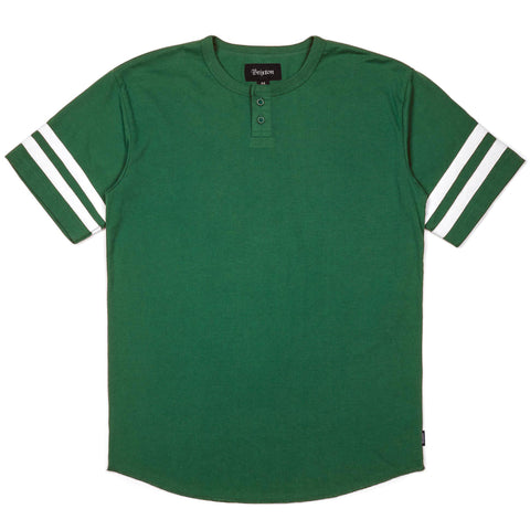 Brixton Fairfield S/S Henley Tee (Kelly Green)