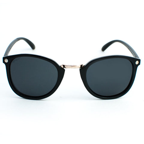 Glassy Loy Sunglasses (Black Polarized)