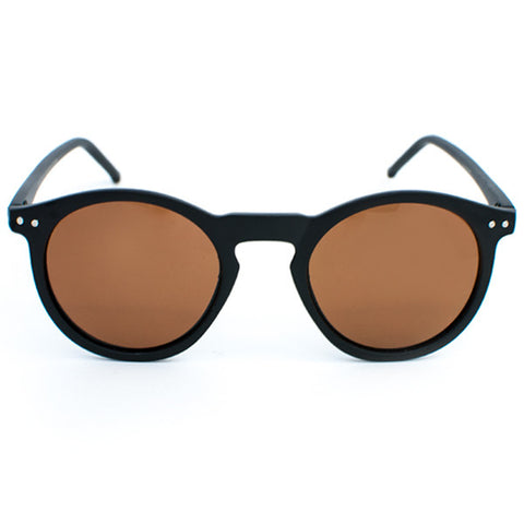 Glassy TimTim Sunglasses (Matte Black/Brown Polarized Lens)