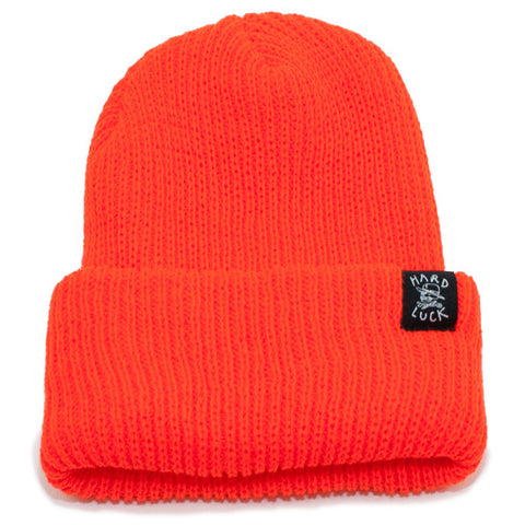 Hard Luck OG Beanie (Orange)