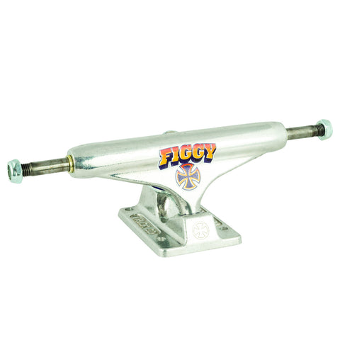 Independent 129 Stage 11 Figgy Faded Hollow Standard Trucks (Silver/Sold in Pair)