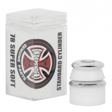 Independent Standard Cylinder Bushings (Super Soft/White/78a)