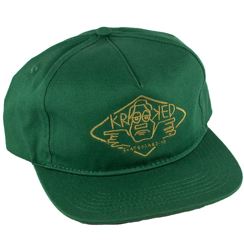 Krooked Arketype Unstructured Snapback Hat (Pine)