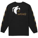 Wknd Ghost Bolts L/S Tee (Black)