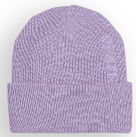 Quasi Brushed Wool Low Beanie (Lavender)