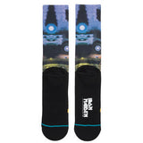 Stance Iron Maiden Crew Socks (Black)