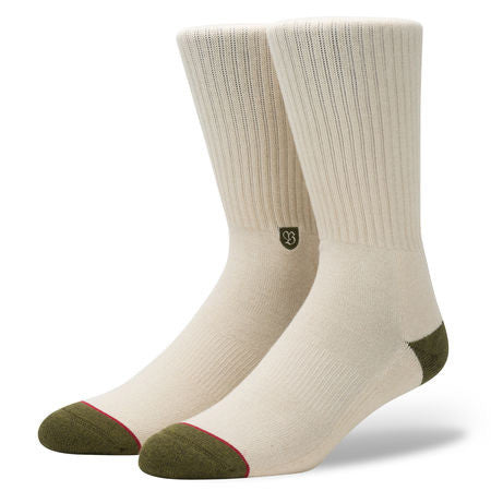 Stance Surplu Crew Socks (Army)