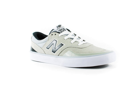 New Balance Numeric Arto Saari 358 Shoes (Grey/Black/White)