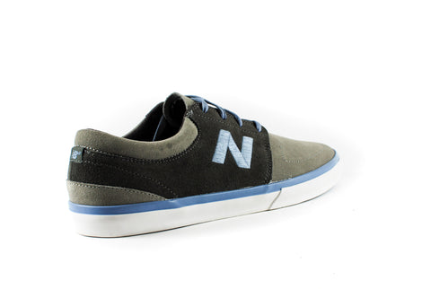 New Balance Numeric Brighton 344 Shoes (Grey/Blue)