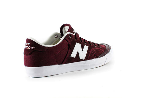 New Balance Numeric Pro Court 212 Shoes (Burgundy)