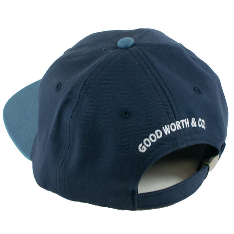 Good Worth Night Moves Strapback Hat (Navy)