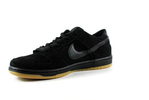 Nike SB Ishod Wair Dunk Low Pro Shoes (Black/Black/Gum)