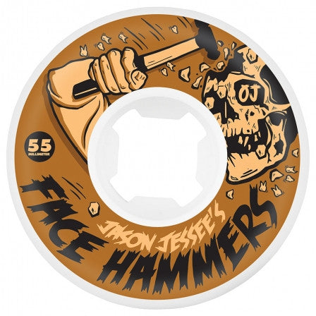 Oj Jessee Face Hammers EZ Edge Insaneathane Wheels (101a/White) 55mm