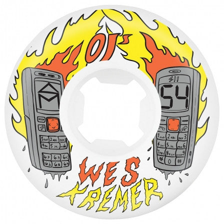 Oj Kremer Burners EZ Edge Wheels (101a/White)