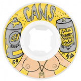 Oj Kremer Cans EZ Edge Wheels (101a/White) 54mm