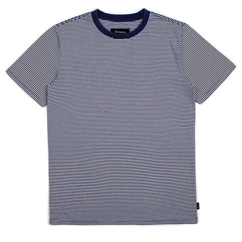 Brixton Pablo Washed Knit S/S Tee (Navy/Off White)