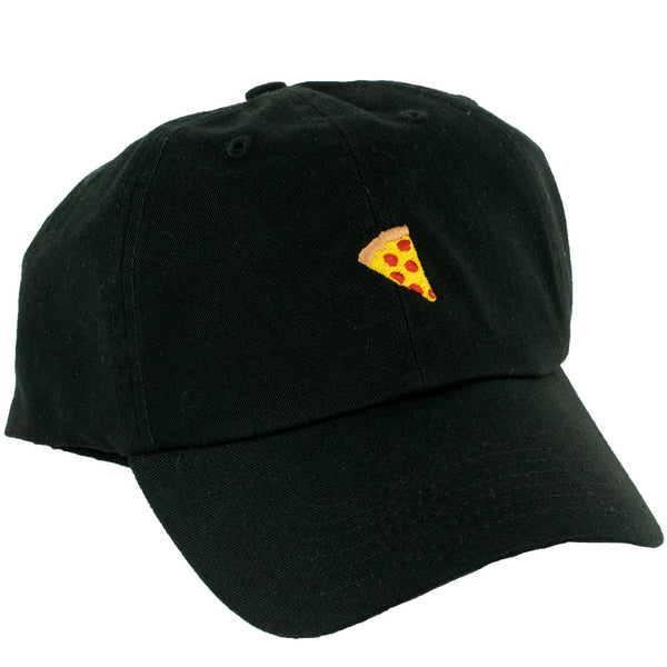Pizza Emjoi Delivery Strapback Hat (Black)
