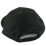 Polar Plain Velcro Strapback Hat (Black)