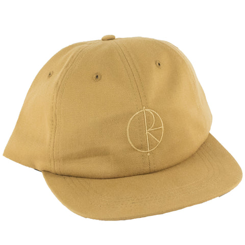 Polar Stroke Logo Strapback Hat (Golden Brown)