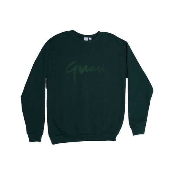 Quasi Century Crew Sweater (Forest)