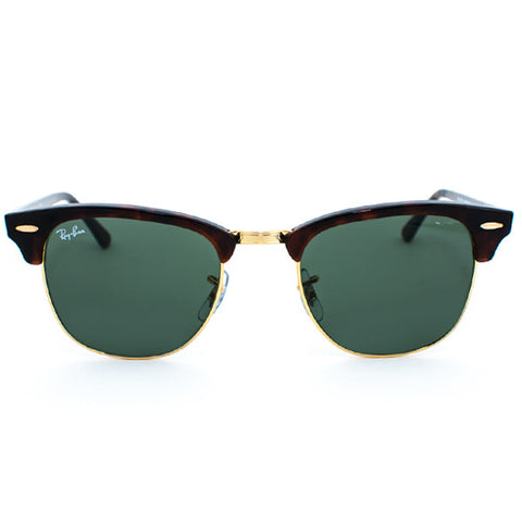 Ray Ban Clubmaster Sunglasses (51f/Mock Tort/Grey Lens)