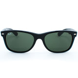Ray Ban New Wayfarer Sunglasses (55f/Gloss Black/Grey Lens)