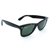 Ray Ban New Wayfarer Sunglasses (55f/Matte Havana/Grey Polarized Lens)